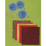 Imaginisce - En Fuego Collection - En Fuego Scrapbooking Kit, CLEARANCE