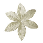 Imaginisce - Now and Forever Collection - Shimmer Sensation Flowers - Tiger Lily - White