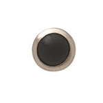 Imaginisce - Bazzill Collection - 8mm Petite Pearls - Black Tie