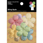 Imaginisce - Bazzill Collection - Mini Bling Blossoms - Bling Buds