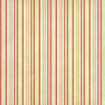 Imaginisce - Candy Cane Lane Collection - 12x12 Paper - Polar Pinstripe