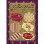 Imaginisce - Out On A Whim Collection - Cardstock Stickers - Lickety Splits - Out On a Whim