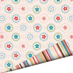 Imaginisce - A Shore Thing Collection - 12x12 Double Sided Paper - Sweet Summer Breeze