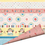 Imaginisce - A Shore Thing Collection - 12x12 Double Sided Paper - Sun-ripe Stripe, CLEARANCE