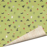 Imaginisce - Hallowhimsy Halloween Collection - 12 x 12 Double Sided Paper - Wicked Whimsy, CLEARANCE