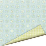Imaginisce - Baby Powder Collection - 12x12 Double Sided Paper - Bubble Bath - Baby Boy