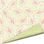 Imaginisce - Baby Powder Collection - 12x12 Double Sided Paper - Oopsie Daisy - Baby Girl
