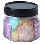 Imaginisce - Baby Powder Collection - 1.5 Inch Flowers Multipack - Ring Around the Rosies - Baby