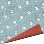 Imaginisce - Snowy Jo Winter Christmas Collection - 12 x 12 Double Sided Paper - Jo to the World, CLEARANCE