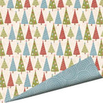Imaginisce - Snowy Jo Winter Christmas Collection - 12 x 12 Double Sided Paper - Tinsel to the Top, CLEARANCE