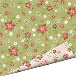 Imaginisce - Snowy Jo Winter Christmas Collection - 12 x 12 Double Sided Paper - Santa's Secret Garden, CLEARANCE
