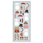 Imaginisce - Snowy Jo Winter Christmas Collection - Cardstock Stickers - Build-a-Jo Set
