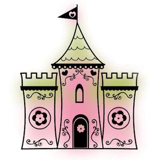 Imaginisce - Fairest of Them All Collection - Snag'em Stamps - Castle