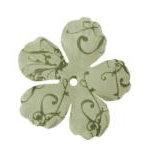 Imaginisce - Gotta Buy Basics Collection - Flourish Flowers - Green Flourish