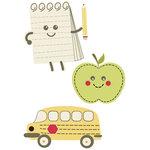 Imaginisce - Teachers Pet Collection - Felt Pieces - Heart Felt