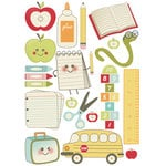 Imaginisce - Teachers Pet Collection - Rub Ons - First Day