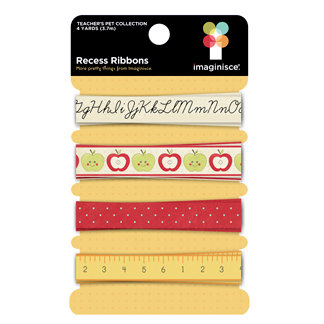 Imaginisce - Teachers Pet Collection - Ribbons - Recess
