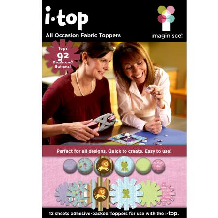 Imaginisce - I-Top Toppers - Paper Stickers - All Occasion