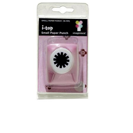 Imaginisce - I-Top Paper Punch - Small - 16mm
