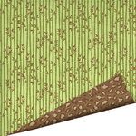 Imaginisce - Wild Things Collection - 12 x 12 Double Sided Gloss Embossed Paper - Bamboozled