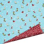 Imaginisce - Polar Expressions Christmas Collection - 12 x 12 Double Sided Paper - Twinkle Toes