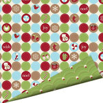 Imaginisce - Polar Expressions Christmas Collection - 12 x 12 Double Sided Paper - Fun Drops