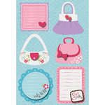 Imaginisce - Perfectly Posh Collection - Sticker Stackers - 3 Dimensional Stickers - Tres Chic, CLEARANCE