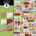 Imaginisce - Polar Expressions Christmas Collection - Paper Pack Two