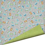 Imaginisce - Live Loud Collection - 12 x 12 Double Sided Paper with Glossy Accents - Ear Candy, CLEARANCE