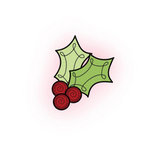 Imaginisce - Cottage Christmas Collection - Snag 'em Acrylic Stamps - Holly Berry