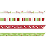 Imaginisce - Cottage Christmas Collection - Ribbons - Holiday Garlands