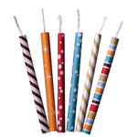 Imaginisce - Birthday Bash Collection - Paper Candles - Make A Wish, CLEARANCE