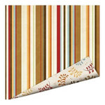 Imaginisce - Apple Cider Collection - 12 x 12 Double Sided Paper with Glossy Accents - Cinnamon Sticks