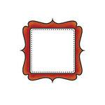 Imaginisce - Apple Cider Collection - Snag 'em Acrylic Stamps - Frame