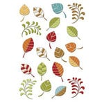 Imaginisce - Apple Cider Collection - Mosaic Stickers - Falling Leaves, CLEARANCE