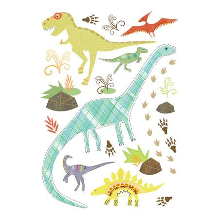 Imaginisce - Dinosaur Roar Collection - Rub Ons - Think Big Icons, CLEARANCE