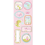 Imaginisce - Enchanted Collection - Chipboard Stickers - Once Upon A Time