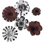 Imaginisce - Gotta Buy Basics Collection - Pop-up Posies - Neutrals