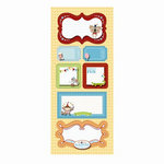 Imaginisce - Animal Crackers Collection - Stickers Stackers - 3 Dimensional Stickers with Glossy Accents - Best of Show