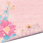 Imaginisce - Garden Party Collection - 12 x 12 Double Sided Paper with Glossy Accents - May Flowers
