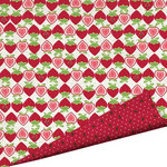 Imaginisce - Berrylicious Collection - 12 x 12 Double Sided Paper with Glossy Accents - Berry Patch