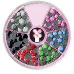 Imaginisce - I-Rock - Hot Rocks Compact - Self Adhesive Gems - Rhinestuds Assortment