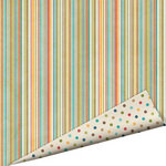 Imaginisce - Happy Camper Collection - 12 x 12 Double Sided Paper with Glossy Accents - Thermal Jammies