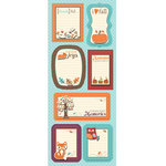 Imaginisce - Happy Harvest Collection - Sticker Stacker - 3 Dimensional Stickers with Glossy Accents - Simple Stories
