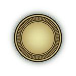 Imaginisce - Bon Voyage Collection - Snag 'em Acrylic Stamps - Circle Frame