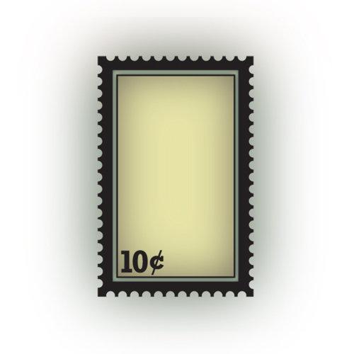 Imaginisce - Bon Voyage Collection - Snag 'em Acrylic Stamps - Stamp