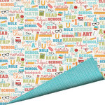Imaginisce - Geek is Chic Collection - 12 x 12 Double Sided Paper with Glossy Accents - Geek Speak