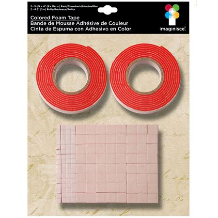 Imaginisce - Foam Tape - Red