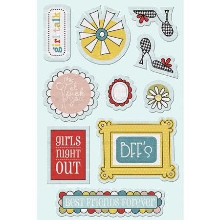 Imaginisce - Sole Sisters Collection - Canvas Stickers - Picture This
