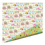 Imaginisce - Makin' Waves Collection - 12 x 12 Double Sided Paper with Glossy Accents - Hot! Hot! Hot!